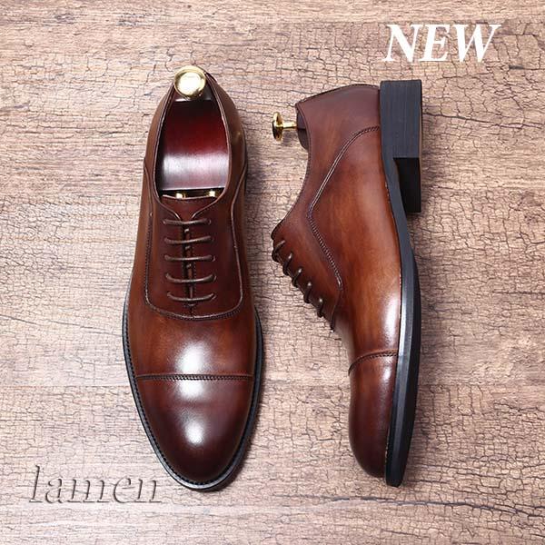 Giày da bò nam, giày nam công sở buộc dây cao cấp - 21